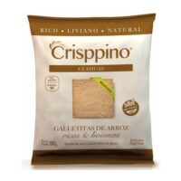 Crisppino Mini Galletitas de Queso x 50 Grs