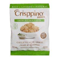 Crisppino Mini Galletitas de Crema y Ciboulette x 50 Grs El Banquito Market