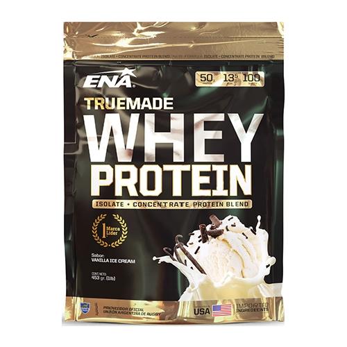 Ena True Made Whey Protein Vainilla 453Grs el banquito market