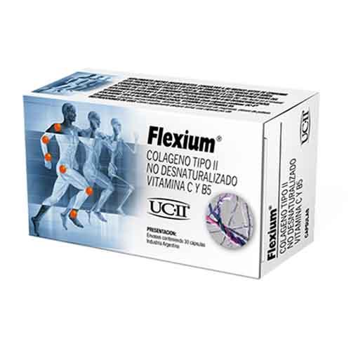 Flexium Colágeno Tipo II x 30 Cápsulas