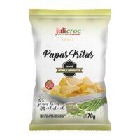 Julicroc Papas Fritas sabor Crema y Ciboulette x 70 Grs El Banquito Market