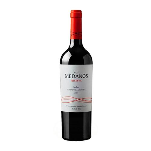 Medanos vino malbec reserva 2008 750Ml el banquito market