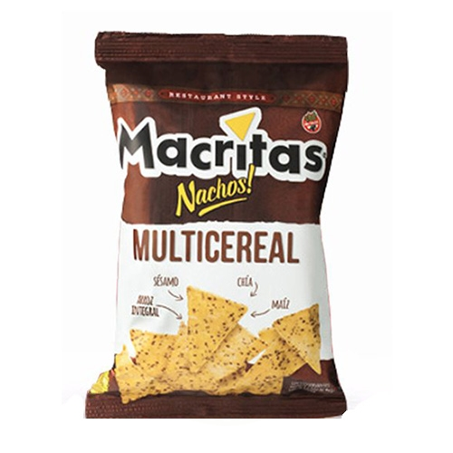 Nachos Macritas Multicereal x 90 Grs El Banquito Market
