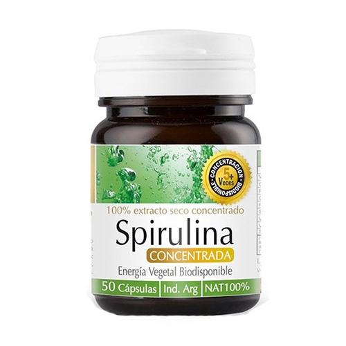 Natier Spirulina 50 Cápsulas el banquito market
