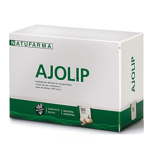 Natufarma Ajo Lip 90 Comprimidos el banquito market