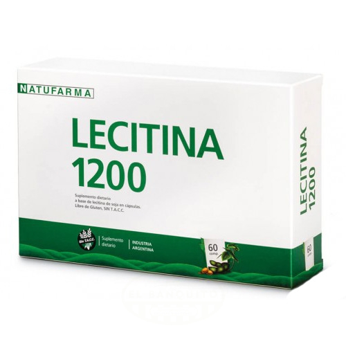 Natufarma Lecitina de Soja 60 Comprimidos el banquito market