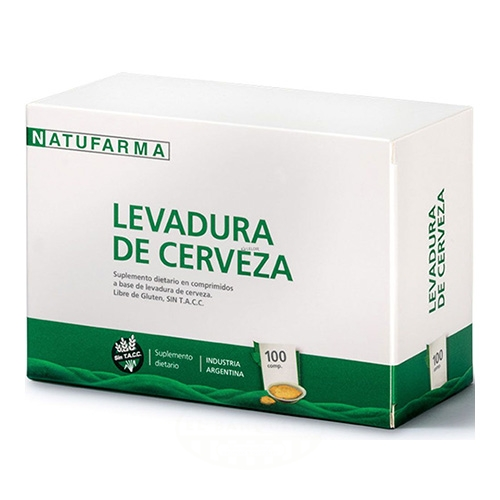 Natufarma Levadura de Cerveza 100 Comprimidos el banquito market