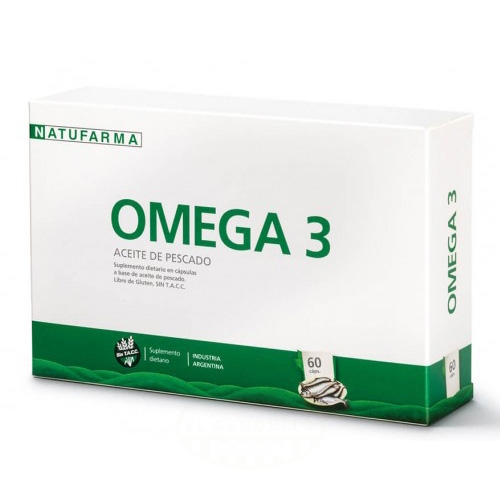 Natufarma Omega 3 Aceite de Pescado 60 Comprimidos el banquito market