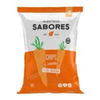 Nuestros Sabores Chips de Zanahorias x 80 Grs