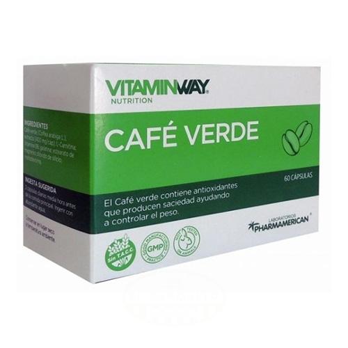 Pharmamerican Café Verde Blister x 10 Cápsulas el banquito market