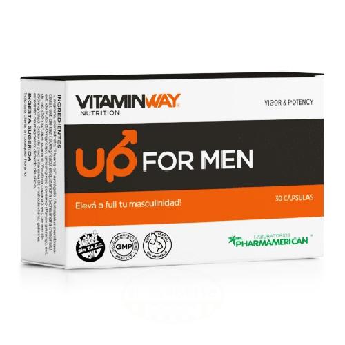 Pharmamerican Up For Men Blister x 10 Cápsulas el banquito market