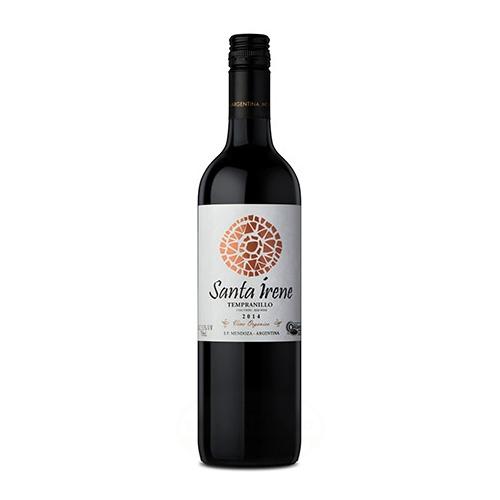 Santa Irene Vino tempranillo Orgánico 750 Ml el banquito market