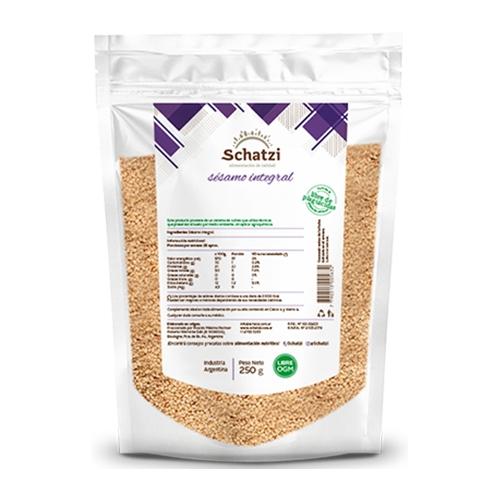 Schatzi semillas de Sésamo x 250 Grs El Banquito Market