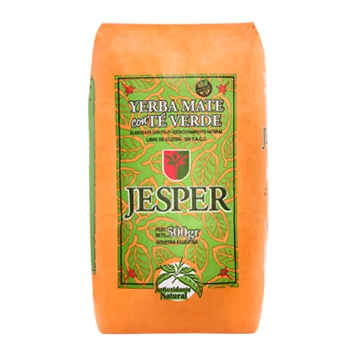 Yerba Mate Jesper Té Verde 500 Grs El Banquito Market