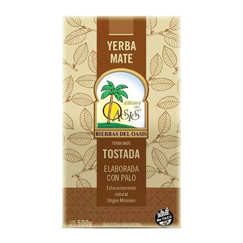 Yerba Mate Oasis Tostada 500 Grs El Banquito Market