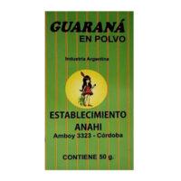 Anahí Guaraná en Polvo x 50 Grs - El Banquito