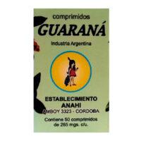 Anahi Guaraná x 50 Comprimidos - El Banquito