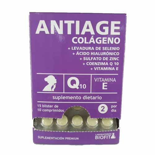 Biofit Colágeno Antiage Blister x 10 Comprimidos