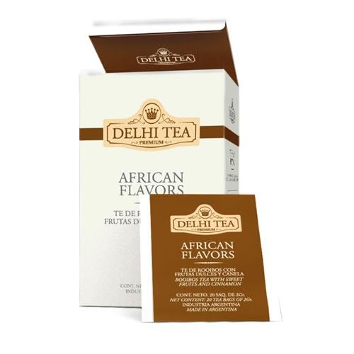 Delhi Tea Té African Flavours - El Banquito Market