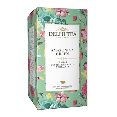 Delhi Tea Té Amazonian Green - El Banquito Market