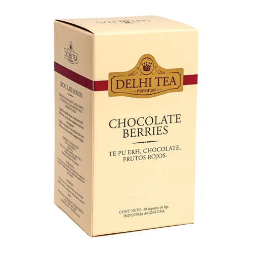 Delhi Tea Té Chocolate Berries - El Banquito Market
