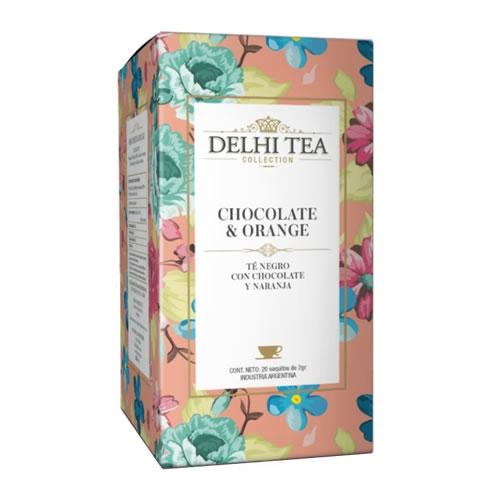 Delhi Tea Té Chocolate Orange - El Banquito Market