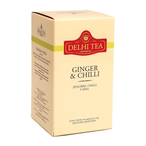 Delhi Tea Té Ginger y Chilli - El Banquito Market