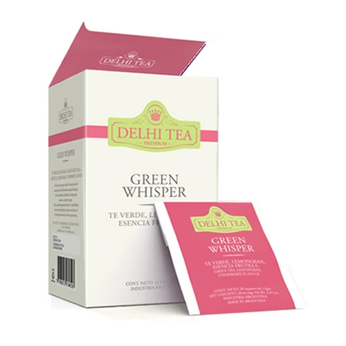 Delhi Tea Té Green Whisper - El Banquito Market