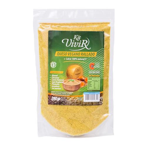 Kit Vivir Queso Vegano Rallado x 200 Grs - El Banquito