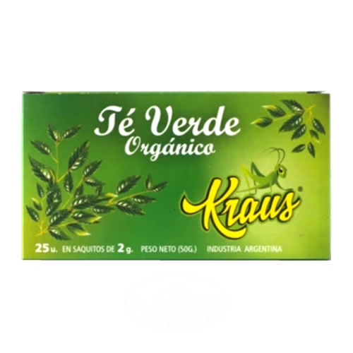 Kraus Té Verde Orgánico - El Banquito Market
