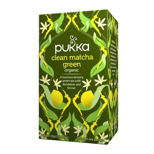 Pukka Té Clean Matcha Green - El Banquito Market
