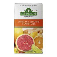 Saint Gottard Té Citrus Mix, Jengibre y Miel - El Banquito Market
