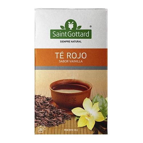 Saint Gottard Té Rojo sabor Vainilla - El Banquito Market
