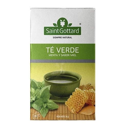 Saint Gottard Té Verde con Menta y Miel - El Banquito Market