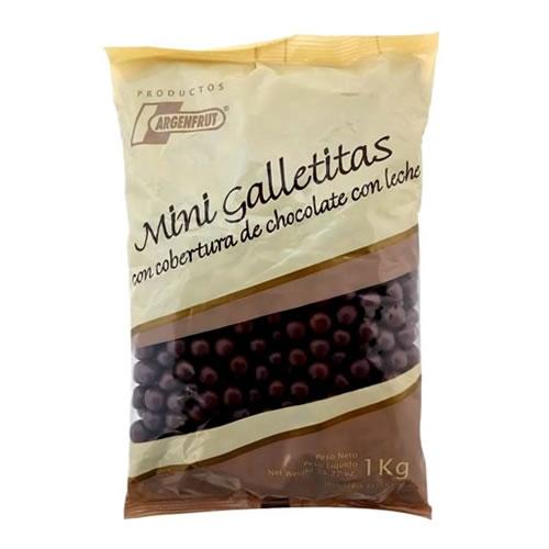 Argenfrut Mini Galletitas Bañadas en Chocolate x 1 Kg - El Banquito Market