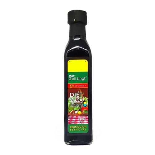 Gell Singh Salsa de Soja Sin Sodio x 180 CC - El Banquito Market