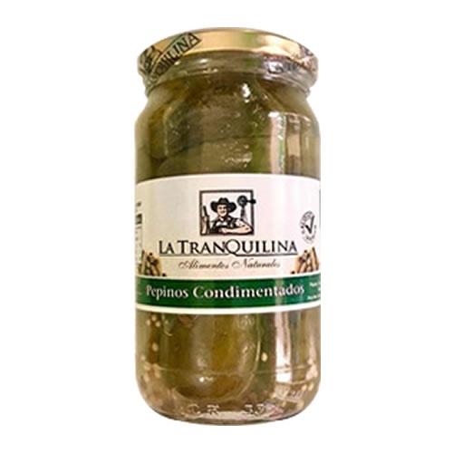 La Tranquilina Pepinos Condimentados x 330 Grs - El Banquito Market