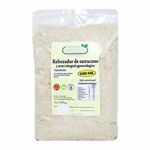 Oryza Rebozador de Trigo Sarraceno y Arroz Sin TACC x 500 Grs - El Banquito