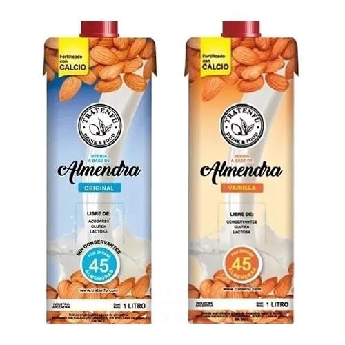 Tratenfú Leche de Almendras x 1 Lt - El Banquito Market
