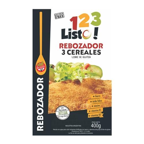 123 Listo Rebozador Sin TACC x 400 Grs - El Banquito Market