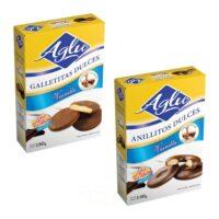 Aglu Galletitas de Vainilla Bañadas en Chocolate Sin TACC - El Banquito Market