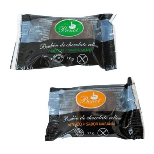 Benot Bombón de Chocolate Relleno Sin TACC x 17 Grs - El Banquito Market