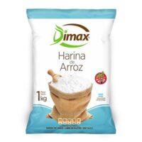 Dimax Harina de Arroz Sin TACC x 1 Kg - El Banquito Market