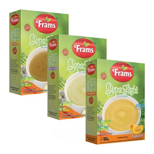 Frams Sopa Instantánea Sin TACC x 5 Uni - El Banquito Market