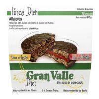 Gran Valle Alfajor Diet Sin Azucar x 45 GrsGran Valle Alfajor Diet Sin Azucar x 45 Grs - El Banquito Market
