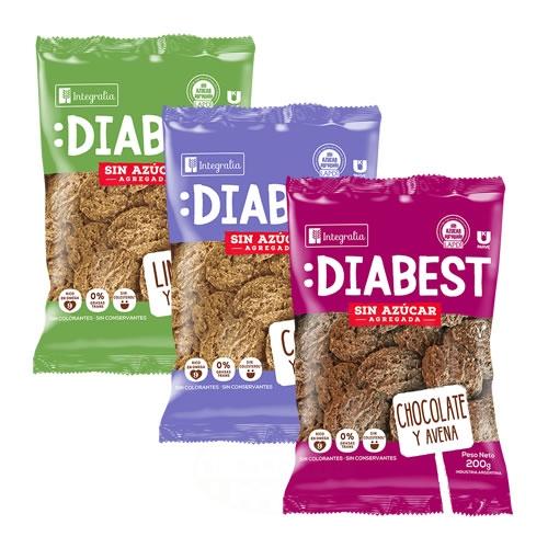 Integralia Galletitas Diabest Sin Azucar x 200 Grs - El Banquito Market