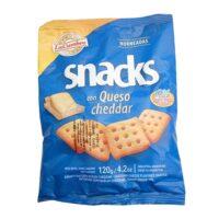 La Cumbre Snacks con Queso Cheddar x 120 Grs - El Banquito Market