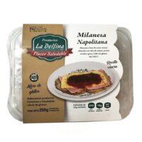 La Delfina Milanesa Napolitana Sin TACC x 250 Grs - El Banquito Market