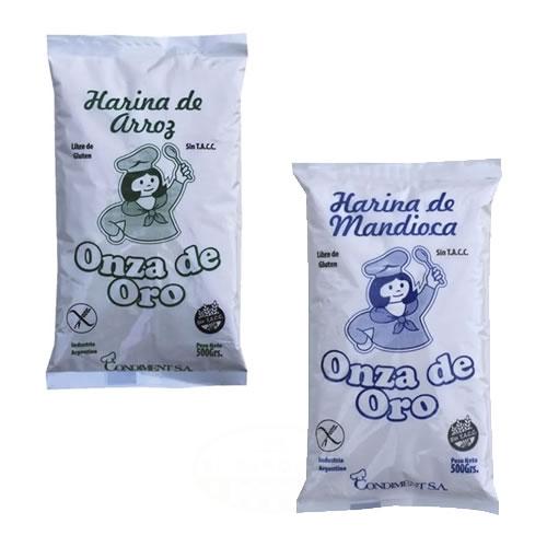 Onza de Oro Harina Sin TACC x 500 Grs - El Banquito Market