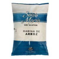 Santa María Harina Arroz Sin TACC x 1 Kg - El Banquito Market